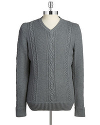 Hudson North Cable Knit Sweater