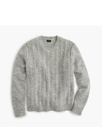 Italian wool cable sweater medium 423874
