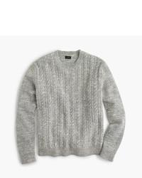 J.Crew Italian Wool Cable Sweater