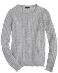J.Crew Cambridge Cable Crewneck Sweater