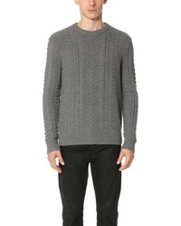 Club Monaco Merino Cable Crew Sweater