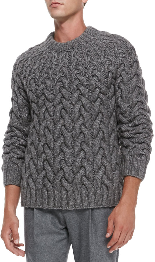 Michael Kors Michl Kors Chunky Cable Knit Sweater | Where to buy ...