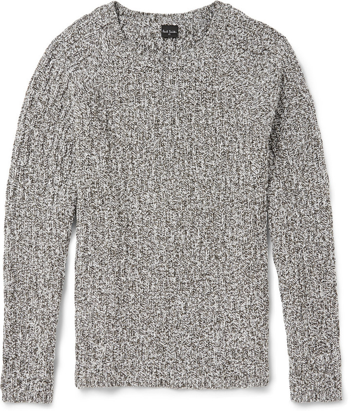 0c7fd439c6 $285, Paul Smith Ps By Cable Knit Cotton Blend Sweater