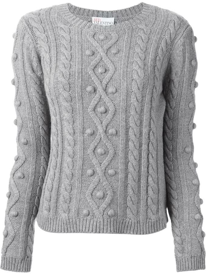 RED Valentino Cable Knit Sweater | Where to buy & how to wear