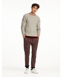 Scotch & Soda Fine Cable Knit Sweater