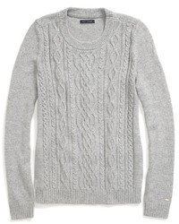 Women's Grey Cable Sweaters by Tommy Hilfiger | Women's Fashion