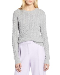 Halogen X Atlantic Pacific Cable Sweater