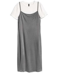H&M Slip Dress With Top