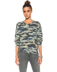 Pam gela lisa boxy cotton blend sweatshirt medium 86593