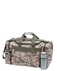Grey Camouflage Duffle Bag
