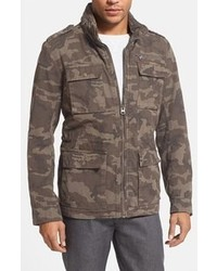Grey Camouflage Field Jacket