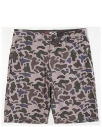 Micros Bubble Camo Hybrid Shorts