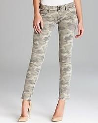 Hudson Jeans Collin Skinny In Green Camo