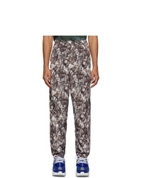 Doublet White Predator Embroidery Real Camouflage Lounge Pants