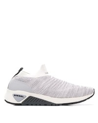 Grey Canvas Athletic Shoes