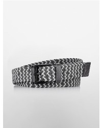 Calvin Klein Nylon Woven Braided Belt