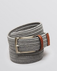 Bloomingdale's The Store At Stretch Braided Belt 100%