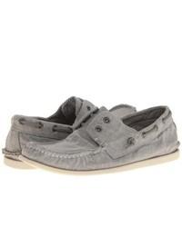 John Varvatos Schooner Boat Slip On Shoes Shale Grey