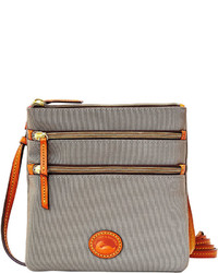 Dooney & Bourke Nylon North South Triple Zip