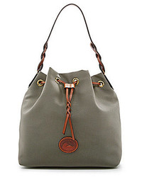 Dooney & Bourke Nylon Drawstring Bucket Bag