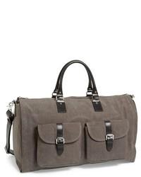 Canvas gartduffel bag grey medium 267687