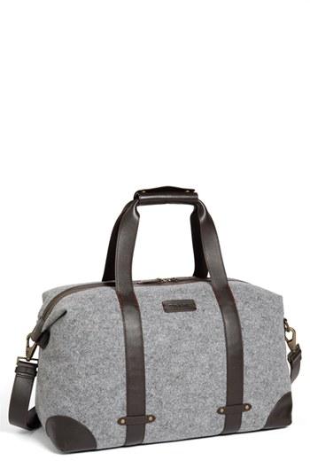 09cd96289a24 Jackson Duffel Bag Grey Wool One Size