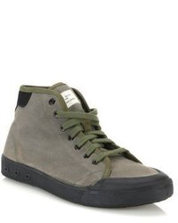 Standard issue canvas high top sneakers medium 598026