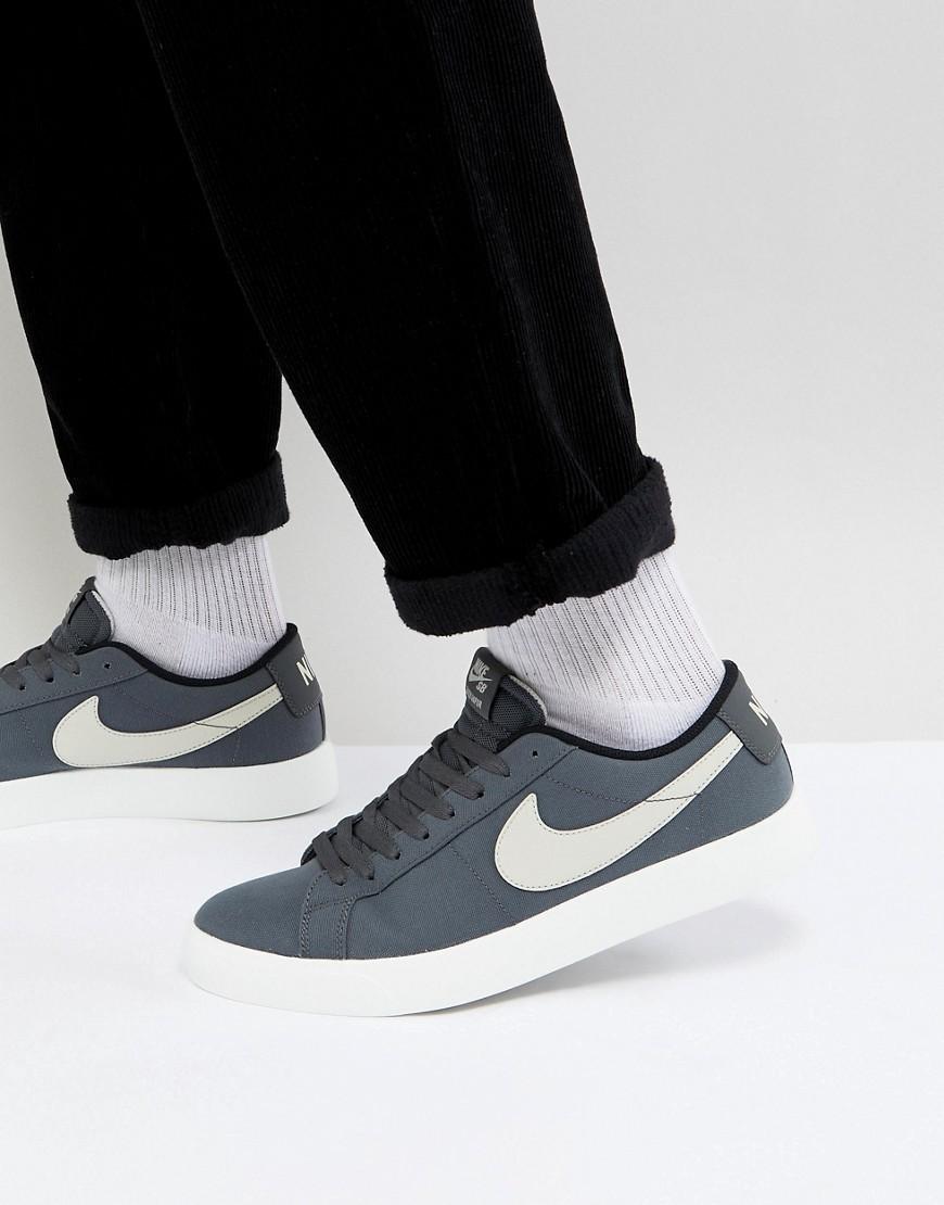Nike SB Blazer Vapor Trainers In Grey 902663 003, $91   Asos ...