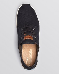 588da862734 ... Toms Paseo Canvas Lace Up Sneakers ...