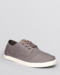 Toms Paseo Canvas Lace Up Sneakers