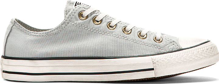 e13ae8695ab7 ... Converse Premium Chuck Taylor Grey Well Worn Chuck Taylor All Star  Sneakers ...
