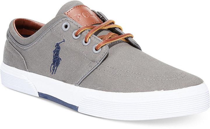 ... Canvas Low Top Sneakers Polo Ralph Lauren Ralph Lauren Faxon Sneakers  Shoes ...