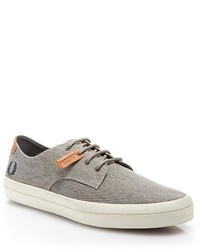 Fred Perry Savitt Printed Canvas Sneakers