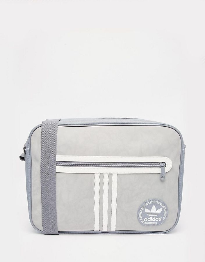 ... adidas Originals Suedette Airliner Messenger Bag ...