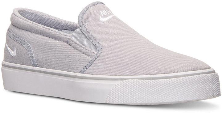 Promoción de ventas brillo encantador grandes ofertas en moda Nike Toki Low Slip Casual Sneakers From Finish Line, $59 | Macy's ...