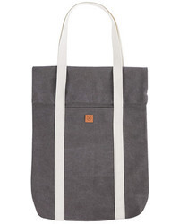 Grey Canvas Tote Bag | Men's Fashion