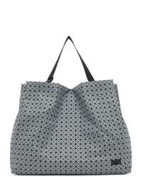 Bao Bao Issey Miyake Grey Large Prism Tote Bag