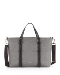 Salvatore Ferragamo New Form Tote Bag Gray