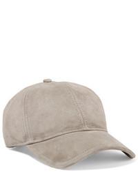 Marilyn suede baseball cap light gray medium 3723814