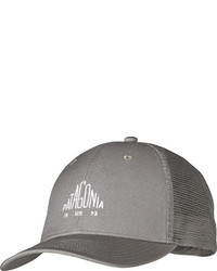 Patagonia Pyramid Logo Trucker Hat Trail Green Baseball Caps