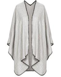 Topshop Blanket Stitch Cape