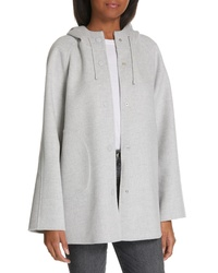 Nordstrom Signature Hooded Double Face Jacket