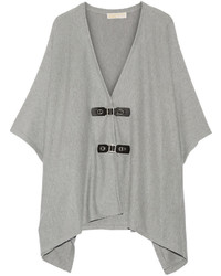 MICHAEL Michael Kors Michl Michl Kors Cotton Blend Cape Gray
