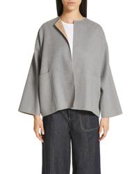 Sofie D'hoore Short Reversible Wool Coat