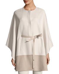 Sporty double face cashmere cape medium 4380899