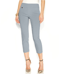 Alfani Tummy Control Pull On Capri Pants Created For Macys