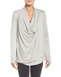 Asymmetrical drape convertible cardigan medium 1183488