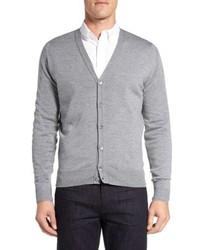 John Smedley Bryn Easy Fit Wool Button Cardigan