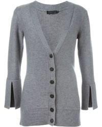 Calvin Klein Collection Buttoned V Neck Cardigan