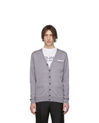 DSQUARED2 Grey Pocket Cardigan